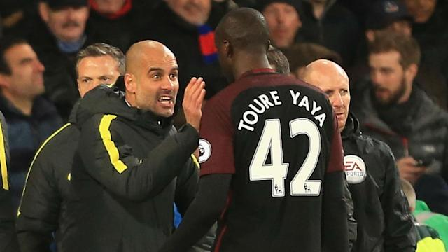 The Manchester City boss insists that the Ivorian's explosive quotes, accusing him of racism towards African players, are a complete fabrication