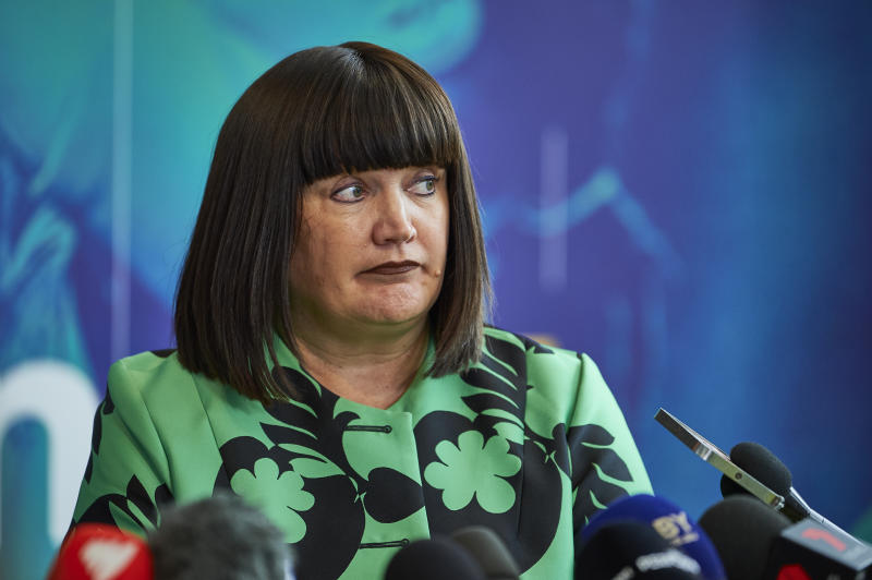 Pictured here, Rugby Australia CEO Raelene Castle.