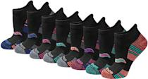 <p>You always need good running socks, and customers love these <span>Saucony Performance Heel Tab Athletic Socks</span> ($15 for 8).</p>