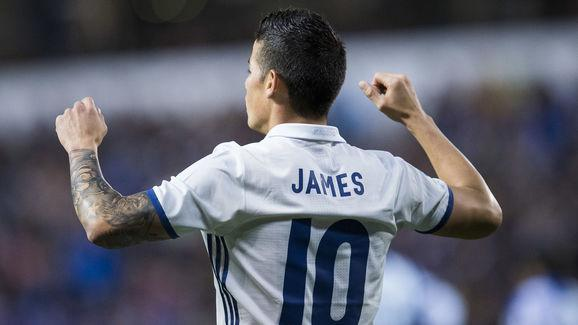 ​Real Madrid playmaker James Rodriguez is keen to inherit on Wayne Rooney's number 10 shirt at Manchester United this summer, should the England international seal a move away from Old Trafford. Rodriguez himself is expected to leave the Bernabeu at the end of the season having struggled to win a starting spot in Zinedine Zidane's side. James Rodriguez 'chooses his shirt number ahead of big-money Man United transfer' https://t.co/bWhEjkWaRN pic.twitter.com/K9qprwVREu — The Sun Football ⚽...