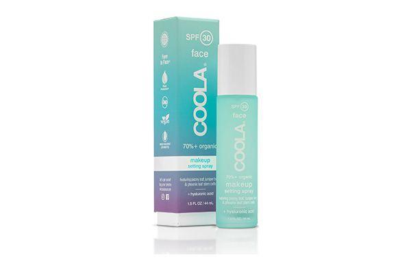 "<h3>Coola Makeup Setting Spray SPF 30</h3><p><a href=""https://www.refinery29.com/en-gb/setting-spray-with-spf"" rel=""nofollow noopener"" target=""_blank"" data-ylk=""slk:Setting sprays with SPF"" class=""link rapid-noclick-resp"">Setting sprays with SPF</a> are the perfect shortcut to getting extra daily protection that's easy to reapply without messing with your makeup. This SPF 30 option has cucumber and aloe-vera extracts to give skin the ultimate refresh as you protect it from the sun <em>and</em> melting makeup.</p><br><br><strong>Coola</strong> COOLA Makeup Setting Spray SPF30 - 44ml, $39, available at <a href=""https://www.skincity.co.uk/p-6772-makeup-setting-spray-spf30-44ml.aspx?alndg=c025b7136b31&gclid=EAIaIQobChMIw8bj94uv4wIVUFXTCh1v5AhOEAAYASAAEgJ7QfD_BwE"" rel=""nofollow noopener"" target=""_blank"" data-ylk=""slk:skin city"" class=""link rapid-noclick-resp"">skin city </a>"