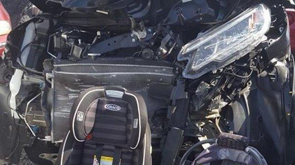A Pennsylvania mom underscored the importance of car seat safety after a harrowing experience with her children.