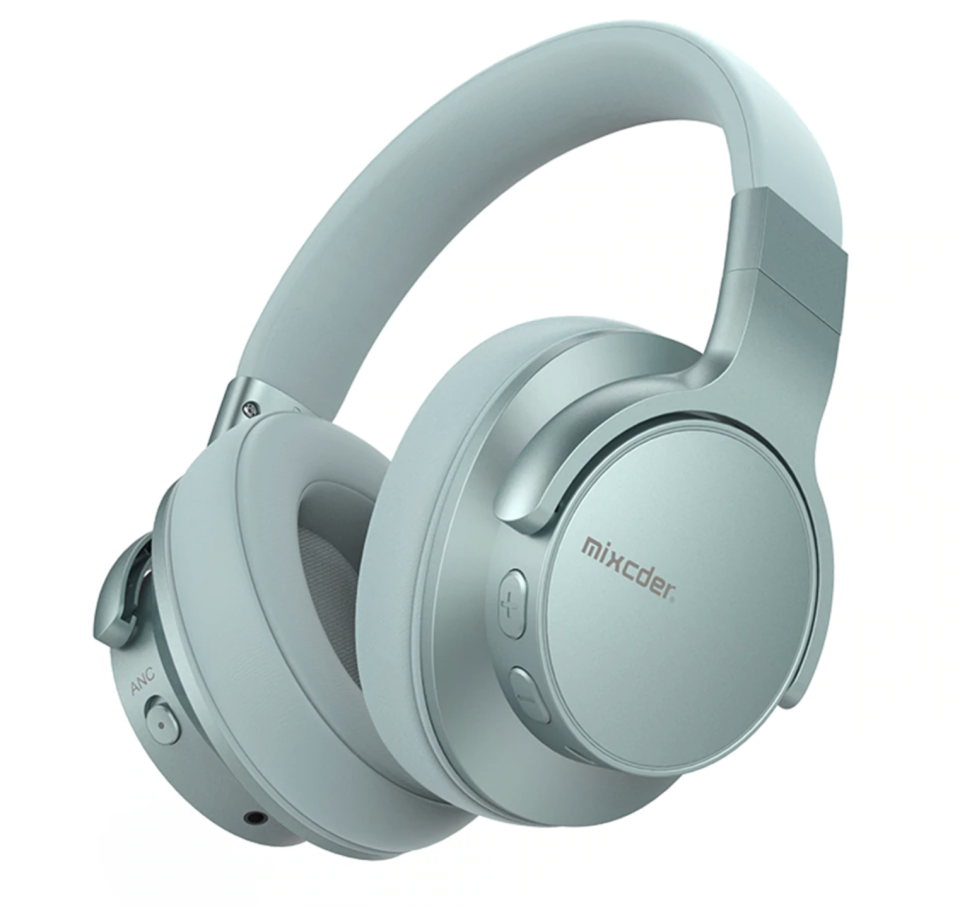 Mixcder, E7 Active Noise Cancelling wireless headphones with bluetooth