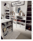 "<p>If you're lucky enough to have a particularly large walk-in closet, consider adding an island to the center of the space. This not only adds storage space in the form of shelves and drawers, but it also provides a surface to perch folded laundry. </p><p>See more at <a href=""https://www.instagram.com/p/CJtOUnxHpST/"" rel=""nofollow noopener"" target=""_blank"" data-ylk=""slk:Shelby Russe"" class=""link rapid-noclick-resp"">Shelby Russe</a>.</p>"