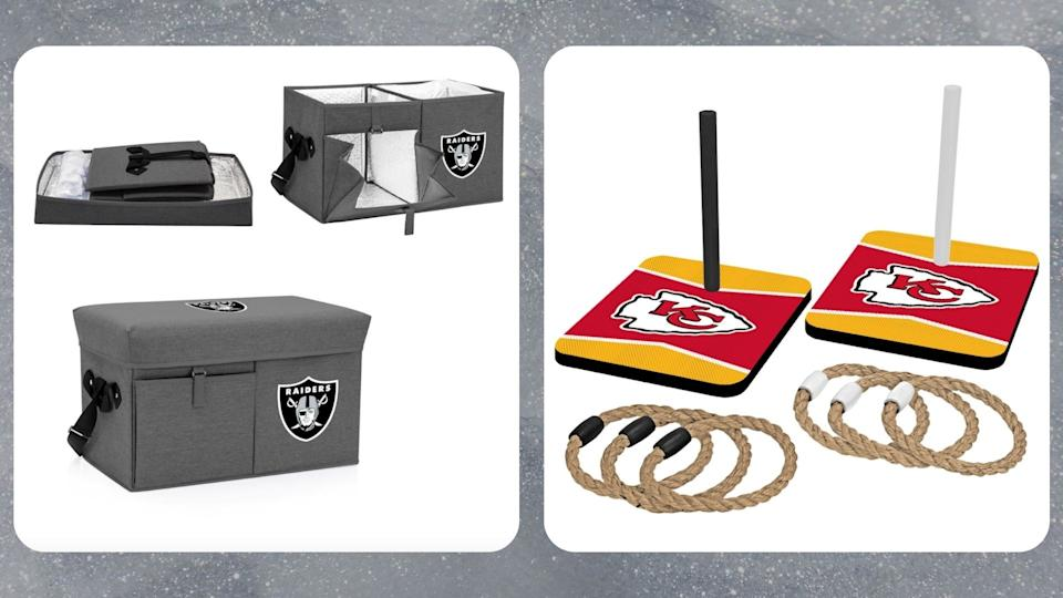 Choose from a fun pre-match game to a cooler you can sit one while sipping a cold one. (Photo by Fanatics)
