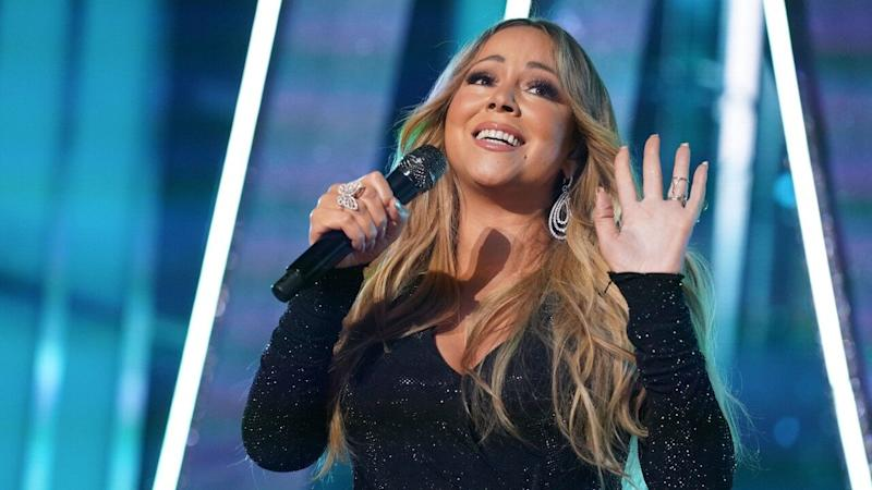 Mariah Carey Gets a Glam Touch-Up in the Middle of Her Cannes Performance -- Watch!