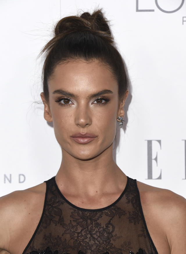 Alessandra Ambrosio, pictured last fall, is on the dreamiest spring break trip. (Photo: Jordan Strauss/Invision/AP)