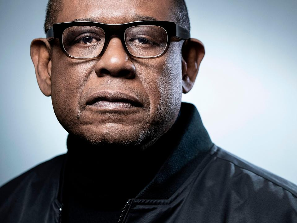 Forest Whitaker: 'The way I work as an actor is to dive down deep into the character and then surrender' (AFP/Getty)
