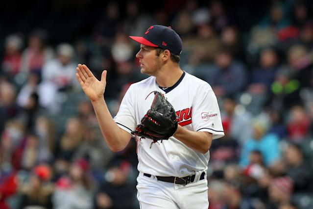 Trevor Bauer didn't have an issue with being taken out of a no-hitter. (Photo by Frank Jansky/Icon Sportswire via Getty Images)