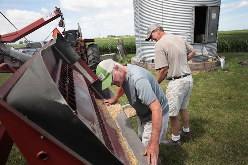 US farmers 'nervous,' as China threat of 25 percent tariffs on soybeans could cause pain