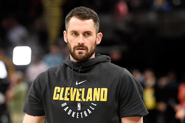 Kevin Love has a chance to be the No. 1 offensive option again. (Getty)
