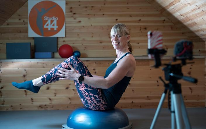 Louise Humphrey is a Pilates Teacher who is transfering her business to the virtual world as a way to combat coronavirus