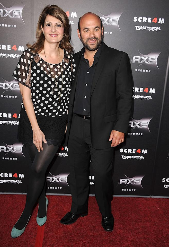 """My Big Fat Greek Wedding's"" <a href=""http://movies.yahoo.com/movie/contributor/1804536542"">Nia Vardalos</a> and her hubby, ""Cougar Town"" co-star <a href=""http://movies.yahoo.com/movie/contributor/1804495813"">Ian Gomez</a>, showed up to cheer on their pal Courteney."