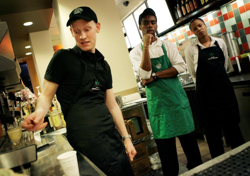 NY's top court: Starbucks baristas must share tips