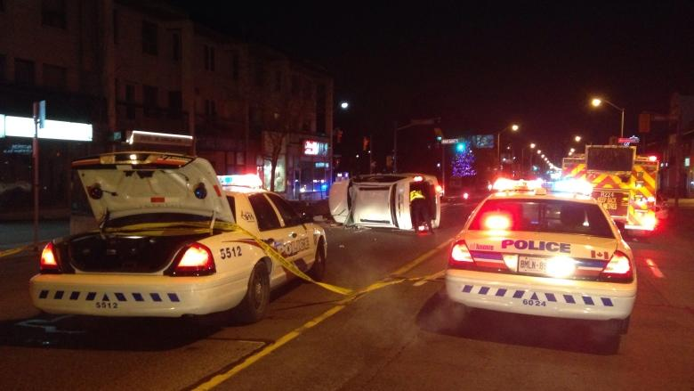 Driver hits light pole, flees scene on the Danforth