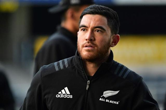 Nehe Milner-Skudder played a key role in New Zealand's 2015 World Cup victory (AFP Photo/Marty MELVILLE)