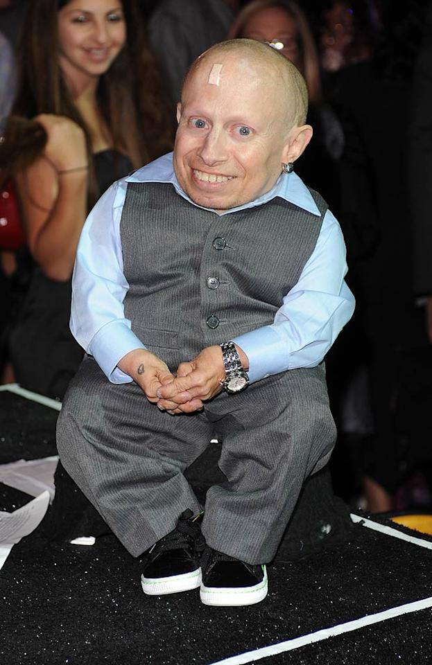 "January 1: Verne Troyer turns 42 Larry Marano/<a href=""http://www.gettyimages.com/"" target=""new"">GettyImages.com</a> - November 19, 2010"