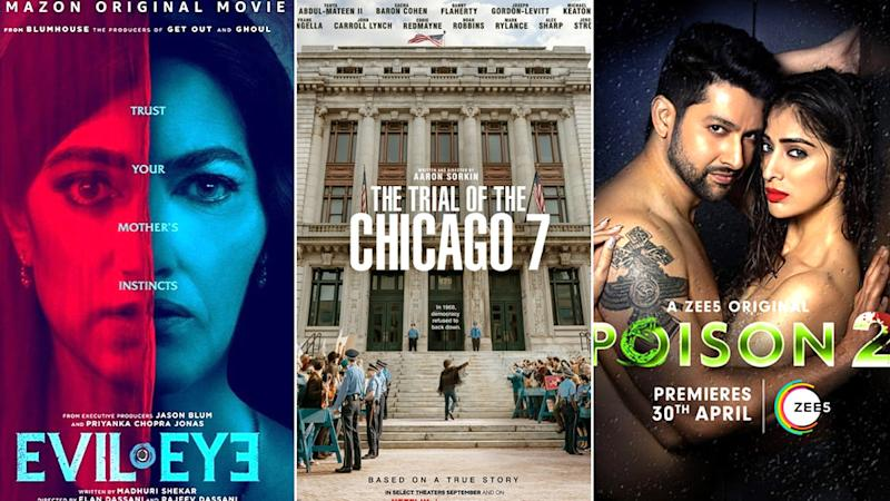 OTT Releases Of The Week: Priyanka Chopra's Evil Eye on Amazon Prime, Sacha Baron Cohen's The Trial Of The Chicago 7 on Netflix, Aftab Shivdasani's Poison 2 on Zee5 and More