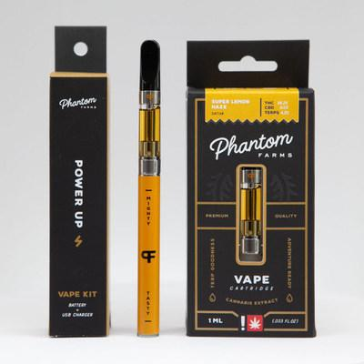 The Phantom Vape Pen is made by Phantom Farms, a Clean Green Certified cannabis cultivator wholly owned by C21 Investments (CNW Group/C21 Investments Inc.)