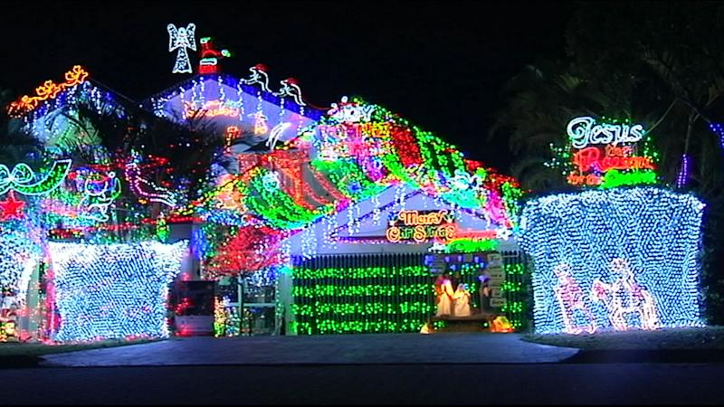 Winners of the 4KQ Christmas lights competition