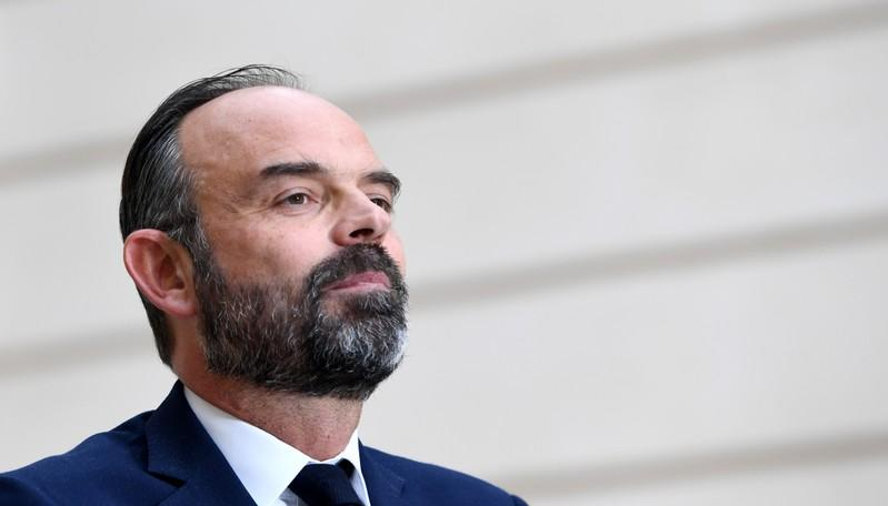 French PM Philippe attends news conference after weekly cabinet meeting in Paris
