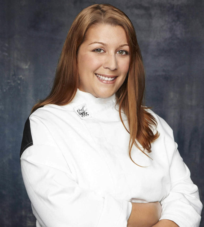 "HELL'S KITCHEN: Jacqueline Baldassari (Florence, NJ) is a contestant on Season 11 of ""Hell's Kitchen."""