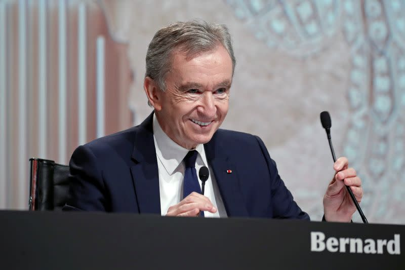 French billionaire Arnault builds up Lagardere holding