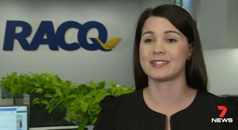 RACQ's Lauren Ritchie said every second counts. Source: 7 News