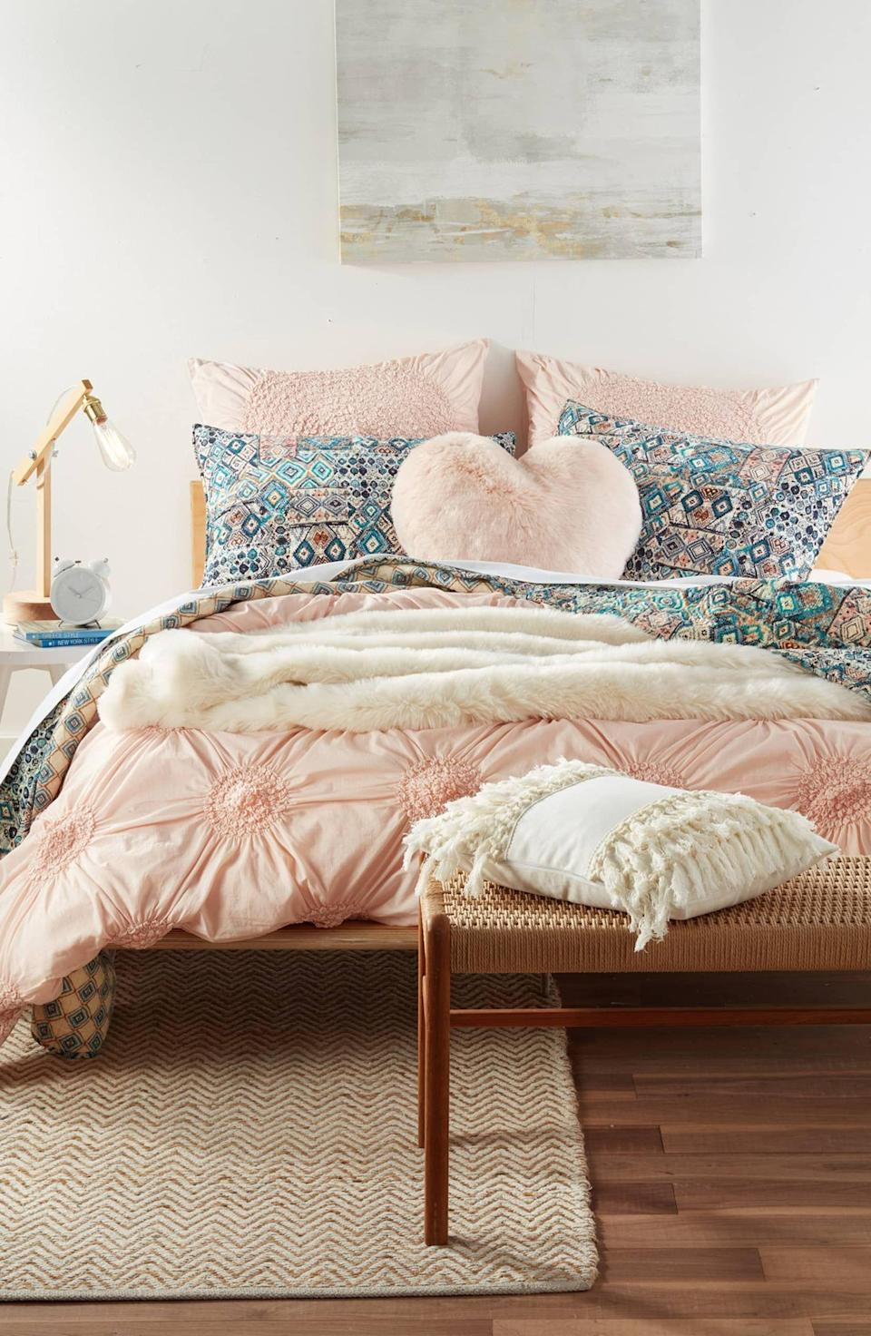 """<p>If your <a href=""""https://www.housebeautiful.com/lifestyle/cleaning-tips/a33482200/how-to-clean-a-mattress/"""" rel=""""nofollow noopener"""" target=""""_blank"""" data-ylk=""""slk:mattress"""" class=""""link rapid-noclick-resp"""">mattress</a> is on its final leg or the floor lamp you inherited from your aunt nearly a decade ago is in need of replacing, the <a href=""""https://www.housebeautiful.com/lifestyle/a30299658/new-years-instagram-captions/"""" rel=""""nofollow noopener"""" target=""""_blank"""" data-ylk=""""slk:end of the year"""" class=""""link rapid-noclick-resp"""">end of the year </a>is the perfect time do exactly that: replace and revamp. In addition to giving your home a refreshing reset before the <a href=""""https://www.housebeautiful.com/lifestyle/a35074187/hallmark-new-year-new-movies-2021-lineup-premiere-info/"""" rel=""""nofollow noopener"""" target=""""_blank"""" data-ylk=""""slk:new year"""" class=""""link rapid-noclick-resp"""">new year</a> rolls around, the end of the year is easy on the wallet thanks to the increased number of sales.</p><p>Among the retailers offering slashed prices to customers in the final days of 2020 is Nordstrom. Their Half-Yearly Sale is taking place now until January 3, 2021, and you can save up to 40 percent on home goods. Need a cozy throw blanket? They've got it. How about an aromatherapy diffuser to keep the good vibes going? They've got that too.</p><p>If Nordstrom's selection of discounted home goods has left you a little overwhelmed, consider opting for one of the products ahead.</p>"""
