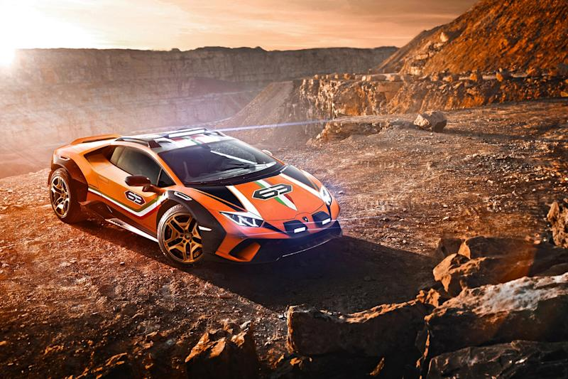 Lamborghini Unveils Super Car Designed For Off Roading
