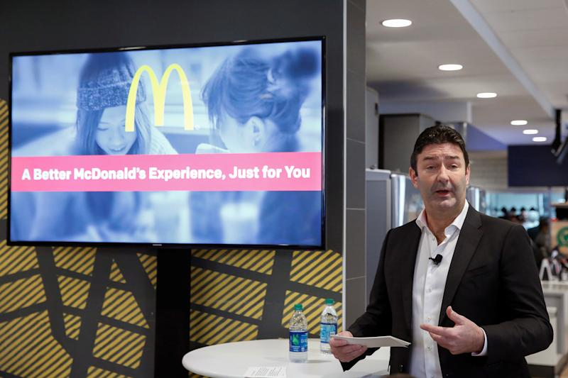 McDonald's CEO out for consensual relationship with employee, company says