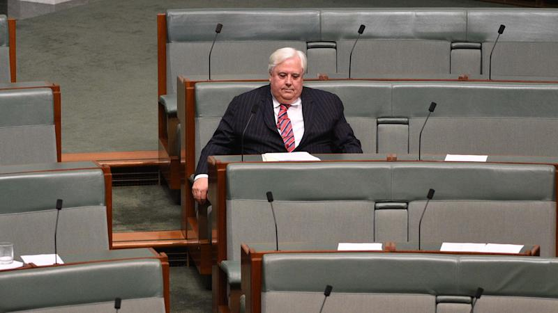 The Queensland government says Clive Palmer has the resources to save his troubled nickel refinery.