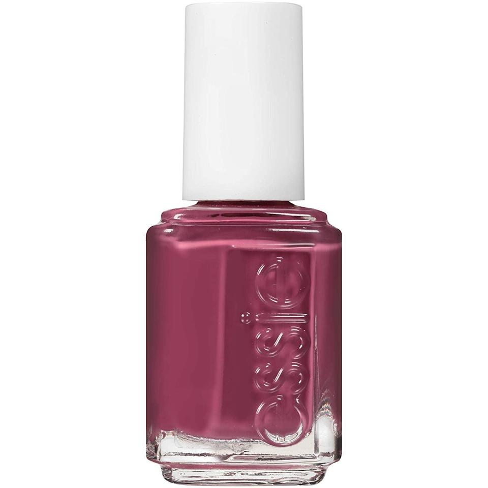 <p>To cover the tea bag, use a colored nail polish. Any opaque, dark shade will do, but you can't go wrong with Essie's <span>Angora Cardi Glossy Shine Finish Nail Polish</span> ($9).</p>