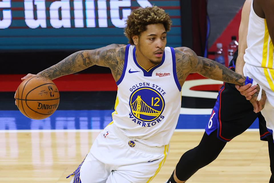 Free agent wing Kelly Oubre Jr. and the Charlotte Hornets are finalizing an agreement on a multiyear deal. (Rich Schultz/Getty Images)