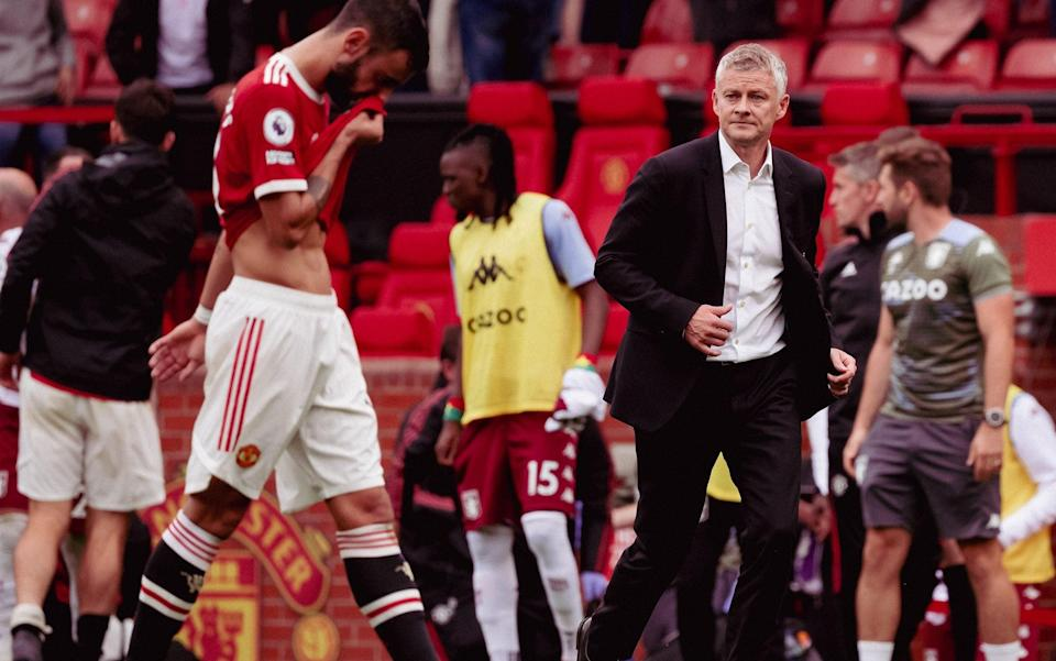 Solskjaer defended his decision to let Fernandes take the penalty over Ronaldo - Getty Images
