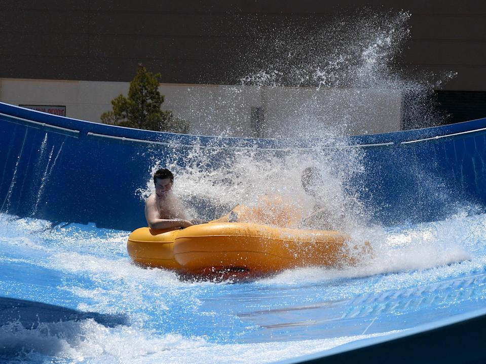 An uninfected water park (Getty Images)