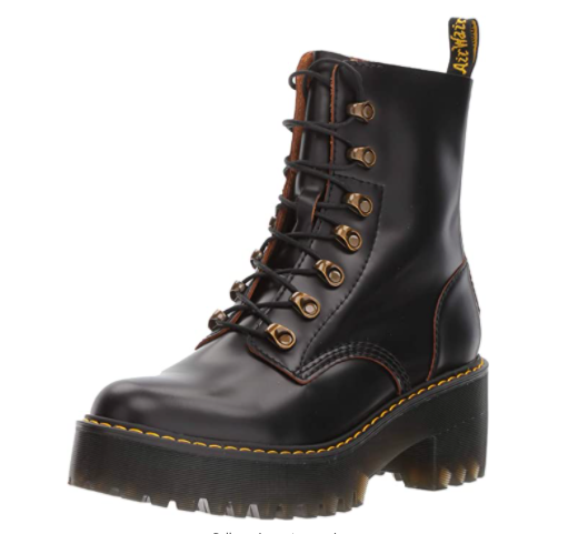 "<h2>23% Off Dr. Martens Platform Boots</h2><br><br><br><strong>Dr Martens</strong> Leona Boot, $, available at <a href=""https://www.amazon.com/dp/B01MT476U7/"" rel=""nofollow noopener"" target=""_blank"" data-ylk=""slk:Amazon"" class=""link rapid-noclick-resp"">Amazon</a>"
