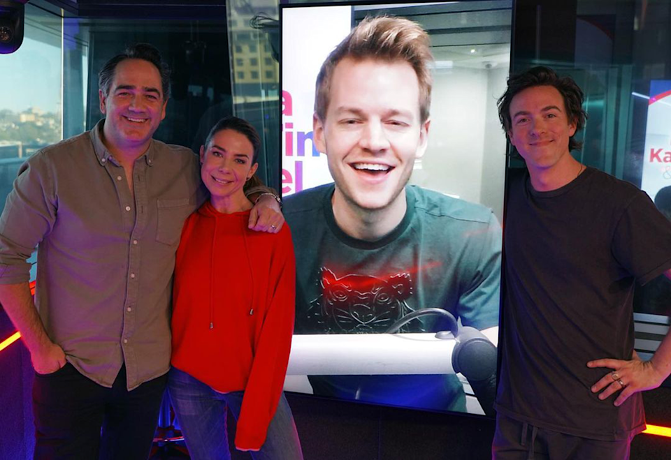 Wippa, Kate Ritchie, Joel Creasey and Tim Blackwell.