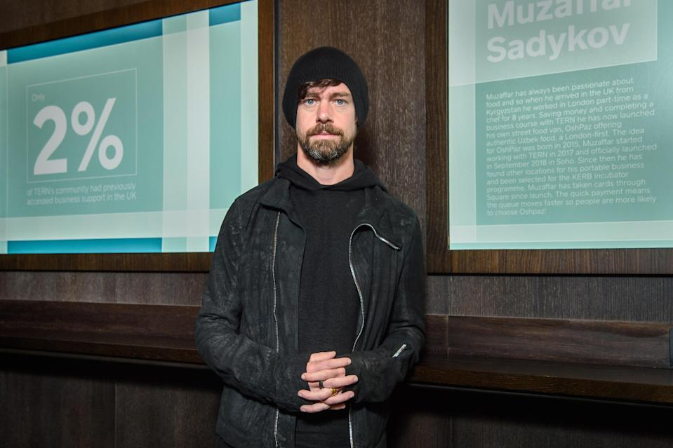 Twitter co-founder and CEO Jack Dorsey. (Matt Crossick/PA Images via Getty Images)