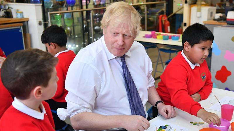 Boris Johnson reveals £1bn plan to help pupils catch up after lockdown