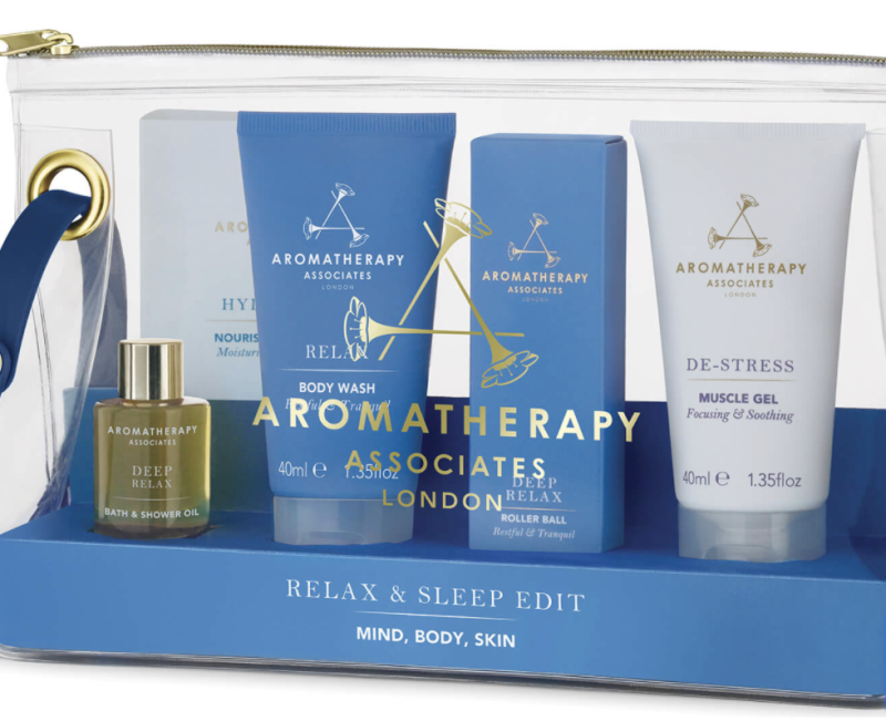Aromatherapy Associates Relax and Sleep Edit. (PHOTO: Lookfantastic)