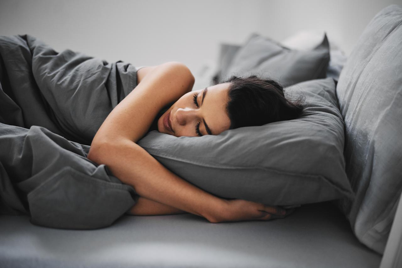 <p>Five tips to help you fall asleep faster. Photo: Getty </p>
