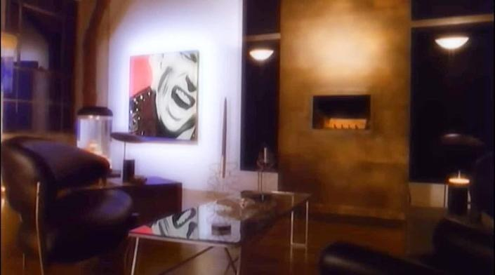 """<p>All throughout Billy Idol's """"Cradle of Love"""" music video, we see the rock singer's face appear on animated paintings hanging on the walls of a minimalist home. He even recreated the opening of the video for the 1991 Grammy Awards—and it won Best Video from a Film at the 1990 MTV Video Music Awards. Watch the video <a href=""""https://www.youtube.com/watch?v=NCZuYS-9qaw"""" rel=""""nofollow noopener"""" target=""""_blank"""" data-ylk=""""slk:here"""" class=""""link rapid-noclick-resp"""">here</a>.</p>"""