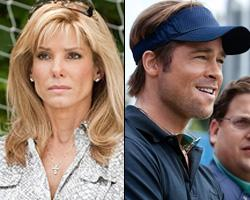 'The Blind Side' and 'Moneyball' Warner Bros./Columbia Pictures