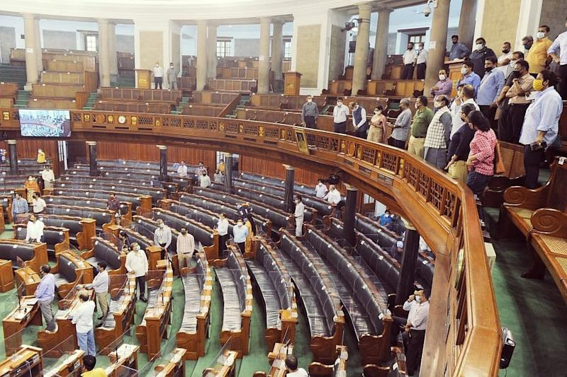 MPs Mark Attendance Through App on First Day of Monsoon Session amid Coronavirus