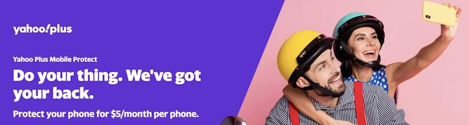 Credit: Yahoo Plus Mobile Protect