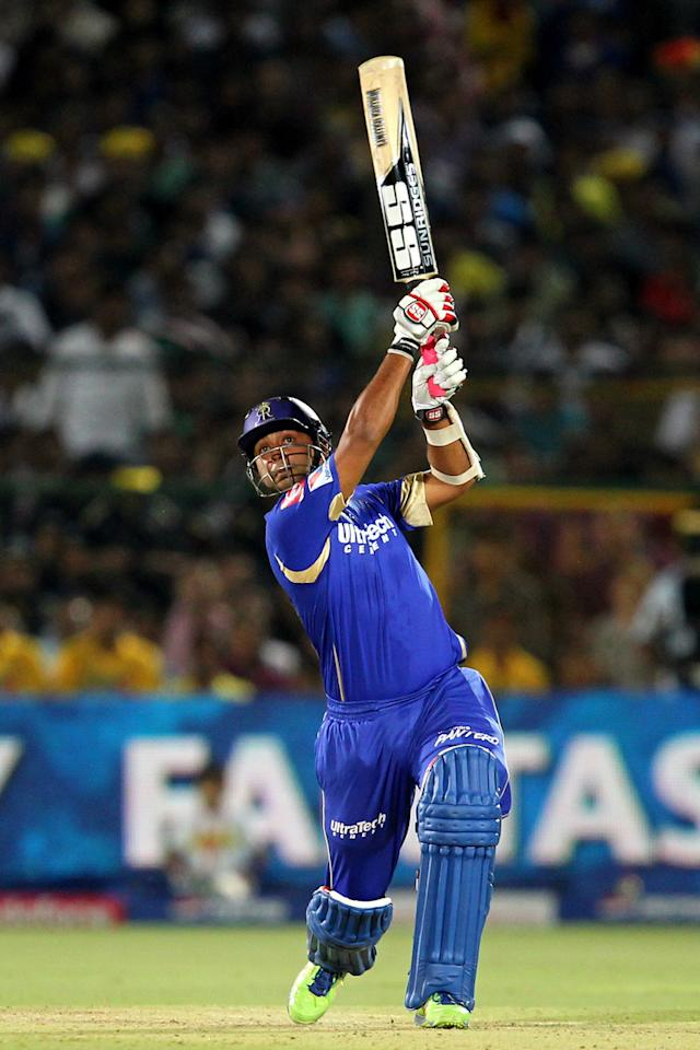 Stuart Binny during match 61 of the Pepsi Indian Premier League ( IPL) 2013  between The Rajasthan Royals and the Chennai Super Kings held at the Sawai Mansingh Stadium in Jaipur on the 12th May 2013. (BCCI)