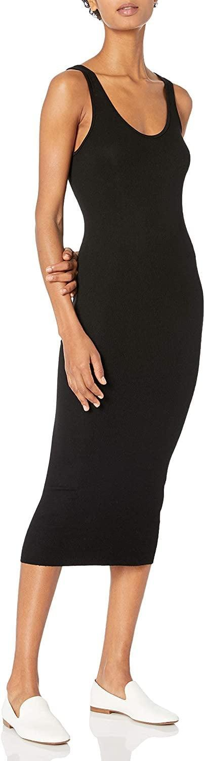 <p>This <span>Enza Costa Stretch Silk Rib Tank Midi Dress</span> ($106, originally $145) is a staple. We'd wear it around the house to feel that much more pulled together.</p>