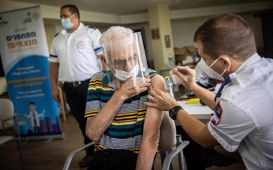 Pfizer COVID-19 boosters for senior citizens backed by the FDA