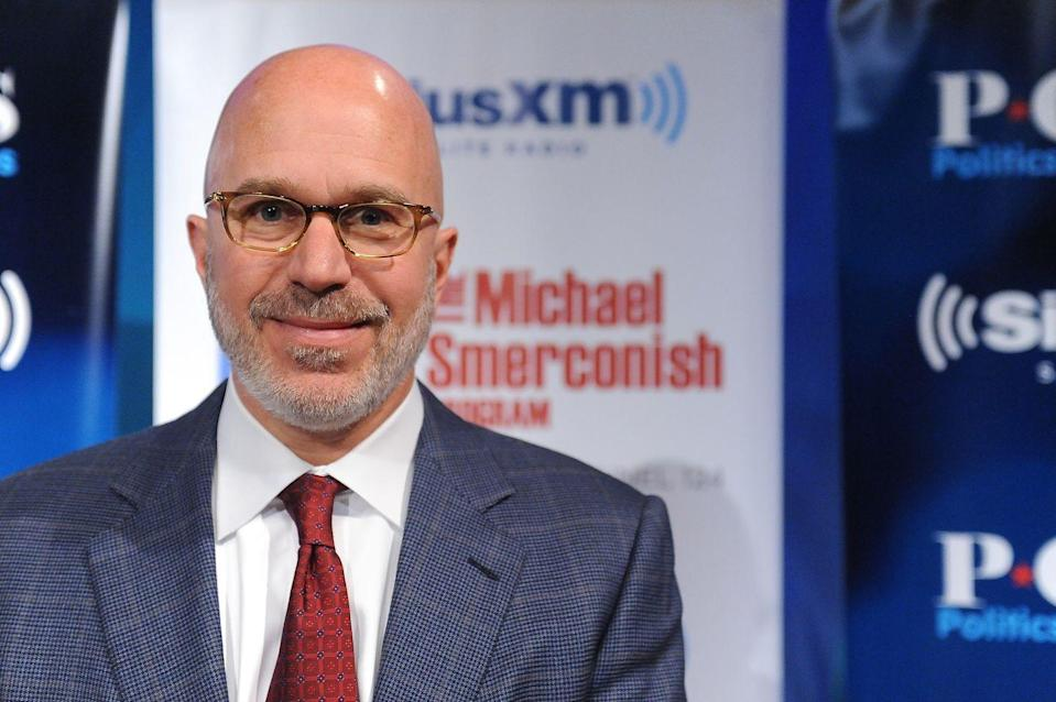 "<p>The radio talk show host and MSNBC political commentator started working at McDonald's in 1978. ""If I were in college admissions, I would have a lot more respect for a person who had punched a clock, gotten a little dirty, and learned how to rotate stock than someone who had a glamorous internship,"" Michael <a href=""http://goldenopportunitybook.com/michael-a-smerconish/"" rel=""nofollow noopener"" target=""_blank"" data-ylk=""slk:told Teets"" class=""link rapid-noclick-resp"">told Teets</a> for <em><a href=""https://www.amazon.com/Golden-Opportunity-Remarkable-Careers-McDonalds/dp/1604332794/?tag=syn-yahoo-20&ascsubtag=%5Bartid%7C2140.g.27361202%5Bsrc%7Cyahoo-us"" rel=""nofollow noopener"" target=""_blank"" data-ylk=""slk:Golden Opportunity: Remarkable Careers That Began at McDonald's"" class=""link rapid-noclick-resp"">Golden Opportunity: Remarkable Careers That Began at McDonald's</a></em>.</p>"